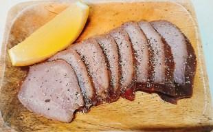 【おすすめ】低糖質な燻製おつまみ「自家製豚タンのスモーク」