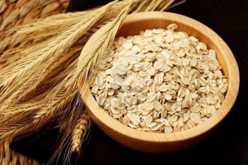 دقيق الشوفان والحبوب