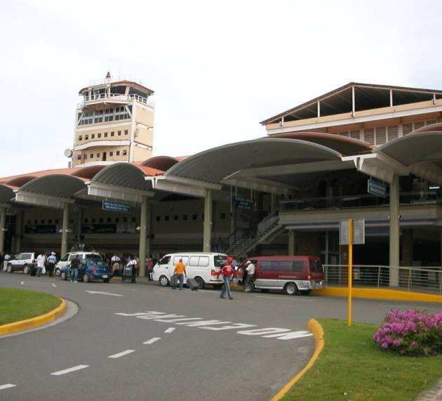 Operaciones normales en el Aeropuerto Cibao por ciclón