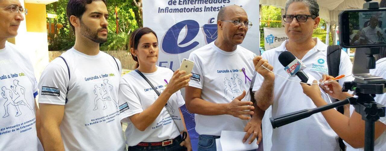 Celebran caminata por enfermedades intestinales