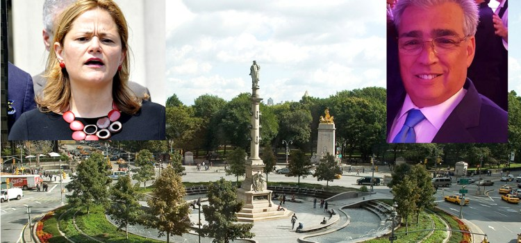 Choques de opiniones sobre estatua Colón