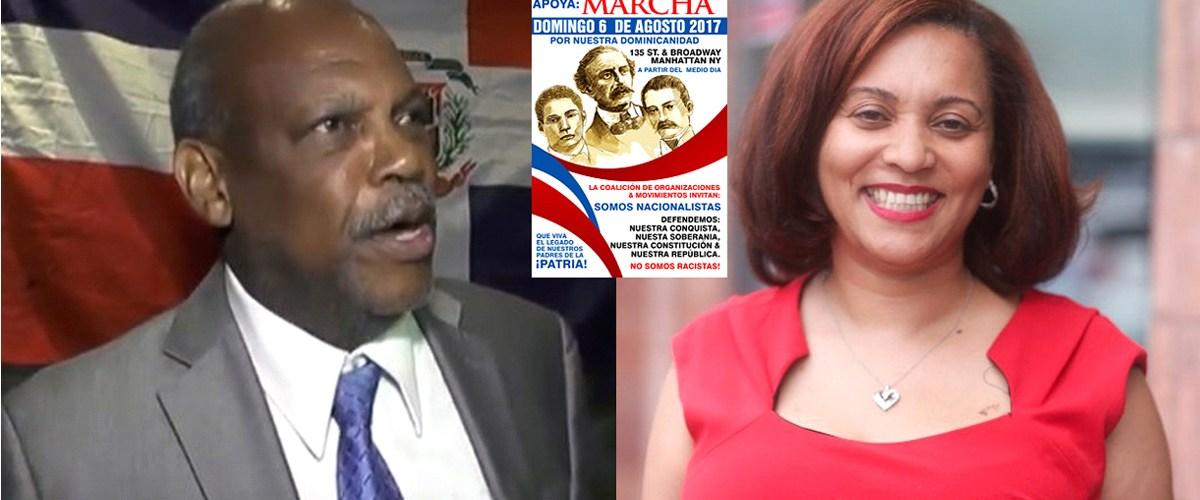 Fracasa llamado a marcha contra haitianos