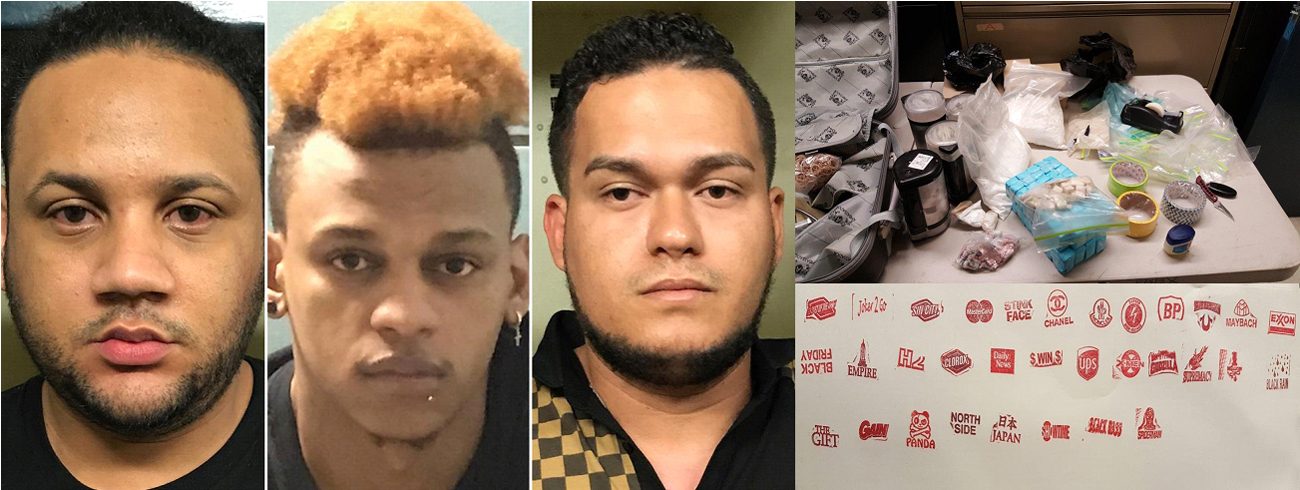 Arrestan dominicanos ligan negocio drogas
