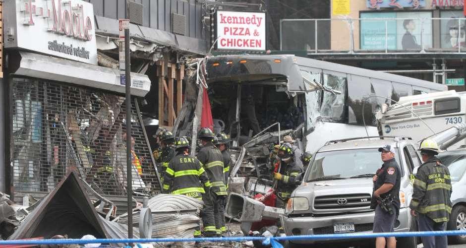 Tres muertos en choque Flushing, Queens