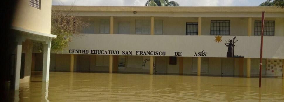Palo Verde y Castañuelas siguen inundados