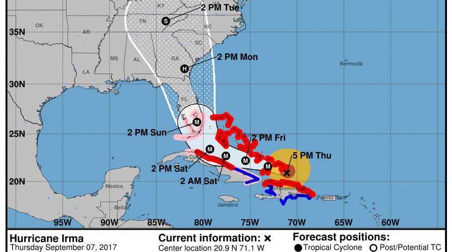 Irma es tragedia inminente para Florida