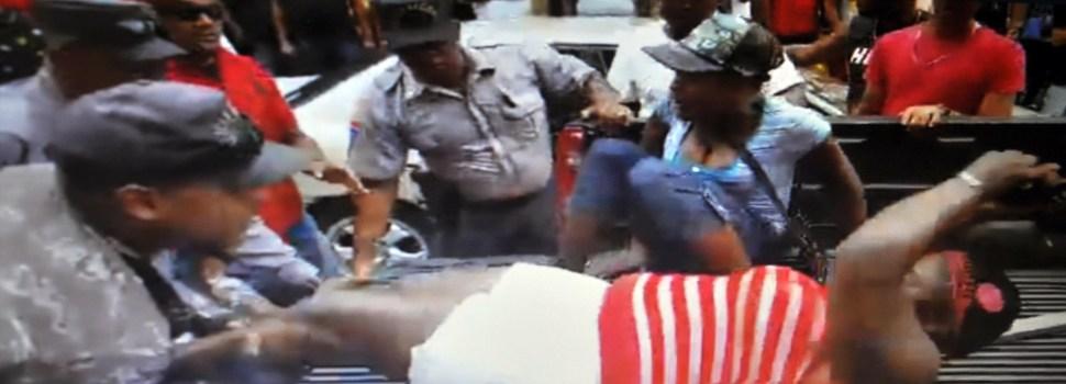 Haitianos agreden inspectores cabildo