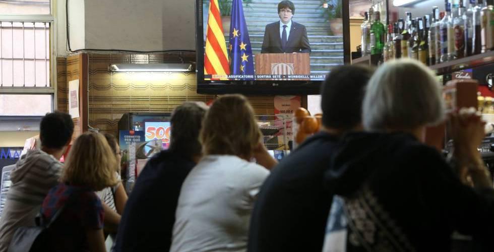 Gobierno catalán sigue resistencia