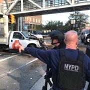 Camión provoca tragedia en Bajo Manhattan