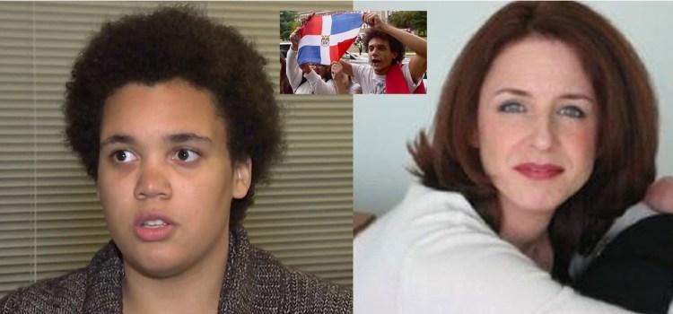 Maestra se disculpa con alumna dominicana