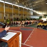 Navarro hace exhortación a graduandos