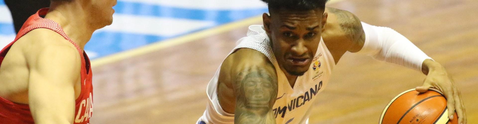 Dominicana vence Canadá en baloncesto