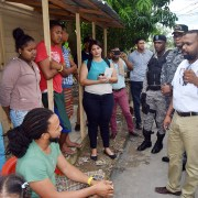 Autoridades judiciales visitan ciudadanía