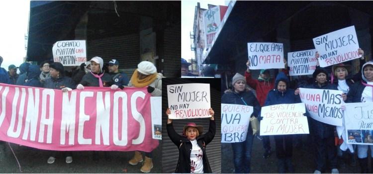 Marchan en contra de feminicidios