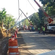 Edenorte repara avería redes eléctricas