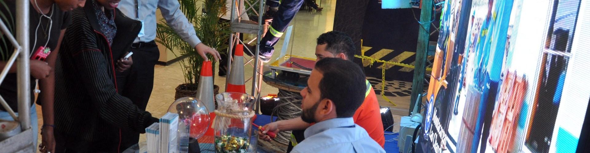 Edenorte participa en feria seguridad y trabajo