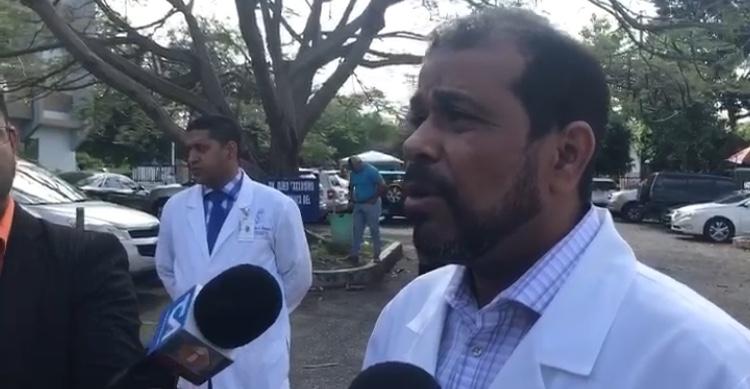 Denuncian rapto recién nacida de hospital