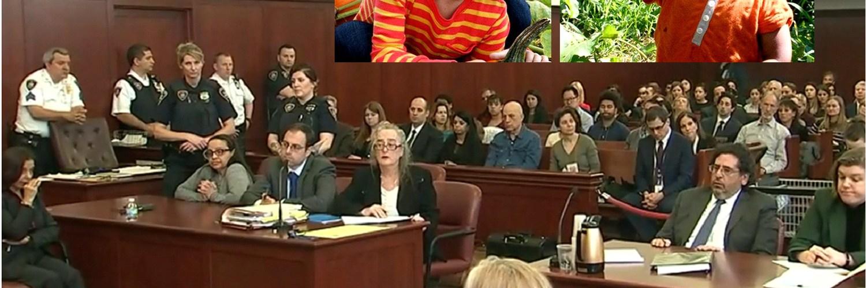 Niñera lloró cuando escuchaba la condena