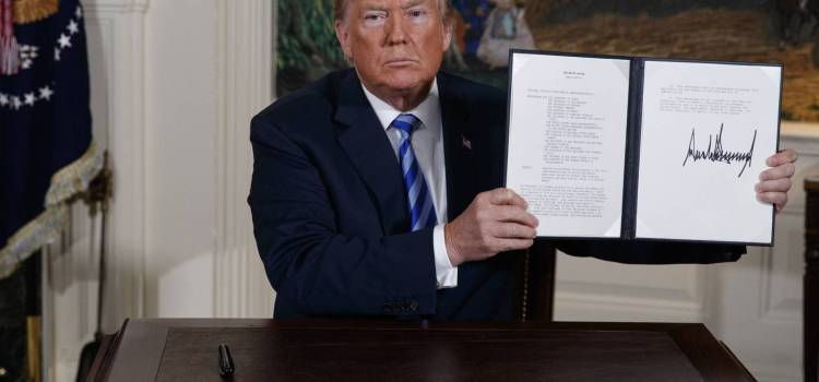 EE.UU. abandona el acuerdo nuclear con Irán