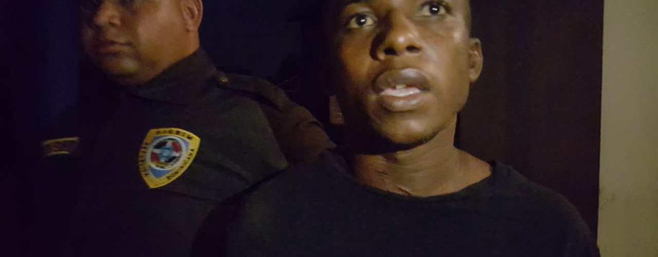 Apresan haitiano por varios delitos