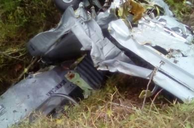 Un muerto y un herido accidente aéreo