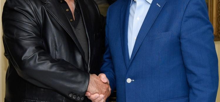 García se reúne con posible ministro Turismo México