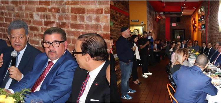 Leonel y empresarios dominicanos se reúnen