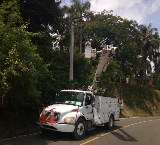 Edenorte repara alumbrado Santo Cerro