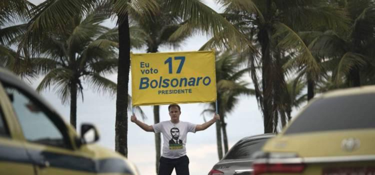Encuesta visualiza victoria de Bolsonaro