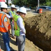 Técnicos del BID supervisan obras Coraasan