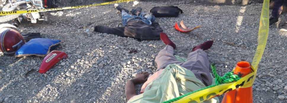Tres muertos en accidente tránsito