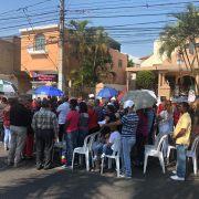Celebran misa en avenida por protesta