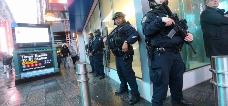 Medidas seguridad Times Square por Año Nuevo