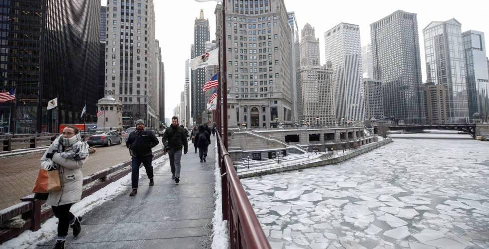 Las bajas temperaturas afectan zonas de EEUU