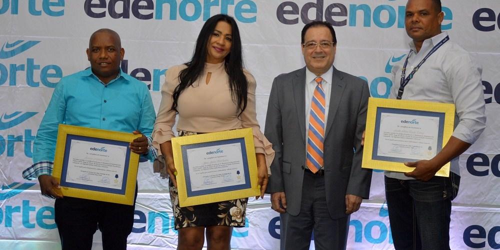 Edenorte reconoce a 109 de sus empleados