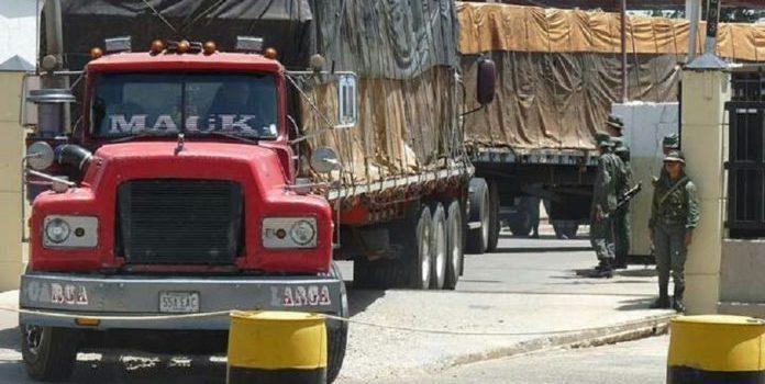 Venezuela envía alimentos a Cúcuta, Colombia