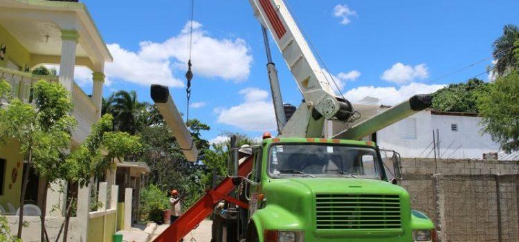 Edenorte inicia rehabilitación redes en Nagua