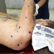 Dicen expolicía venezolano fue fusilado