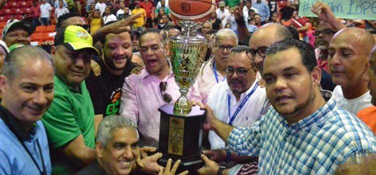 Cupes campeón basket de Santiago