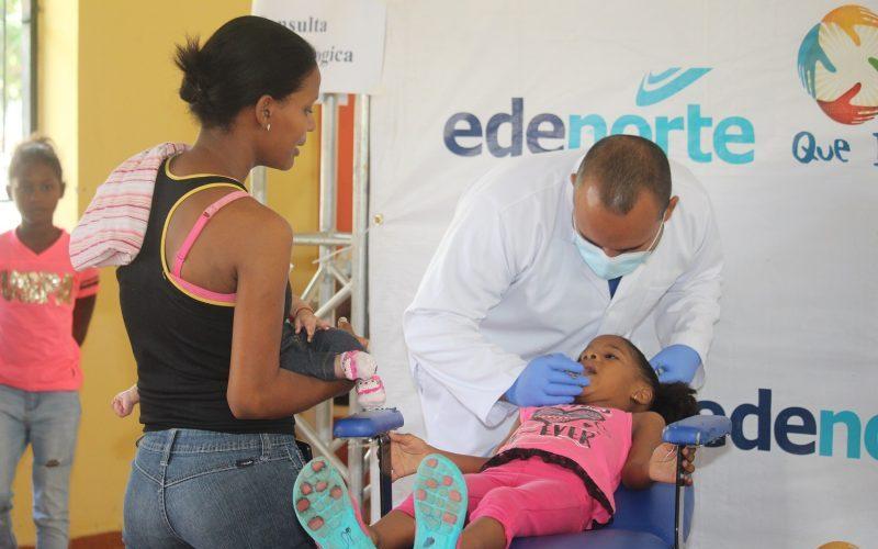 Voluntariado de Edenorte hace operativos médicos