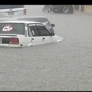 Inundaciones causan daños decenas de viviendas