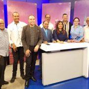 Fausto Polanco asiste a programas televisión
