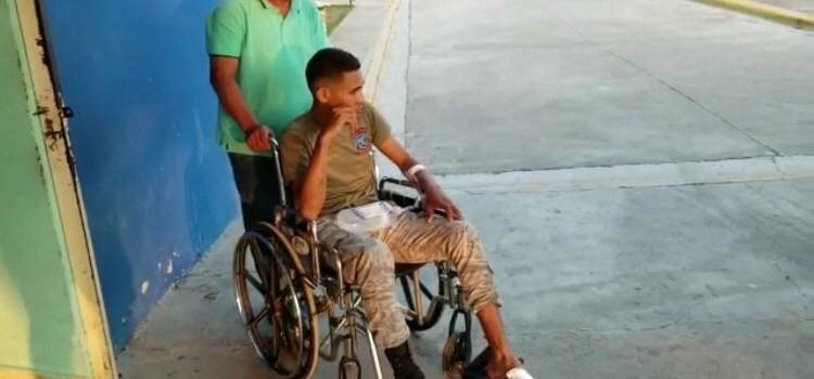 Hieren militar en huelga afecta a Navarrete