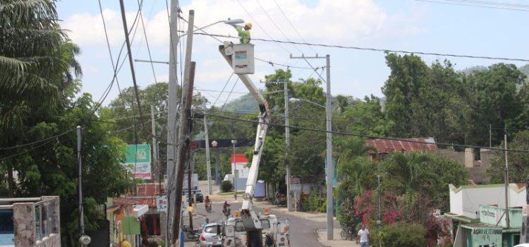 Edenorte instala 24 horas en Loma de Cabrera