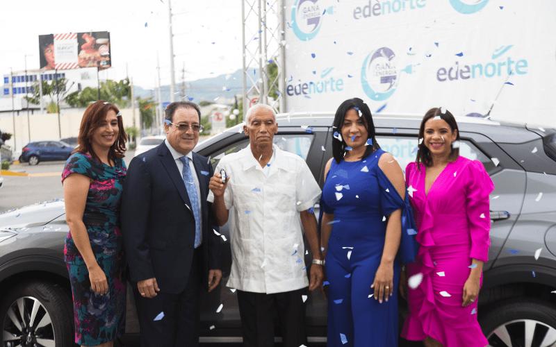 Edenorte entrega jeepeta y otros 140 premios a ganadores