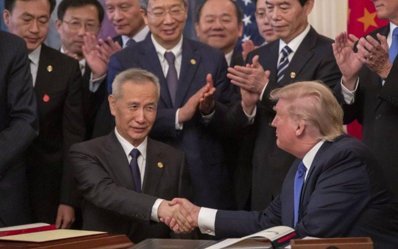 EE.UU. y China firman histórico acuerdo comercial
