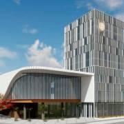 Anuncian la construcción de hotel en Santiago