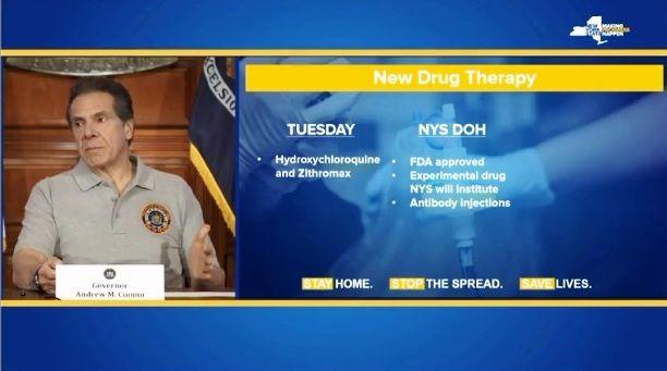 Nueva York acepta ensayos médicos contra coronavirus