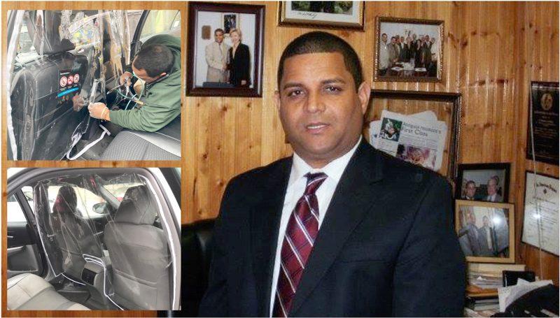 Taxistas dominicanos evitan contagio virus