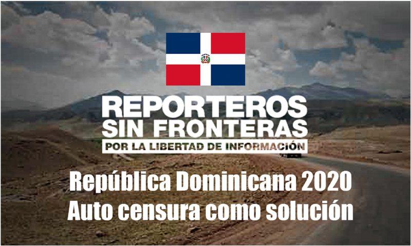 Citan a RD entre violadores libertad de prensa
